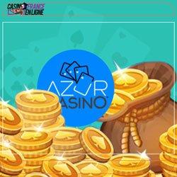 Bonus offerts par Azur Casino